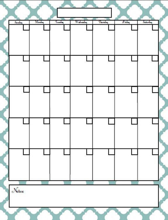 Free Printable Blog Planner  Printable Calendars Free Printable