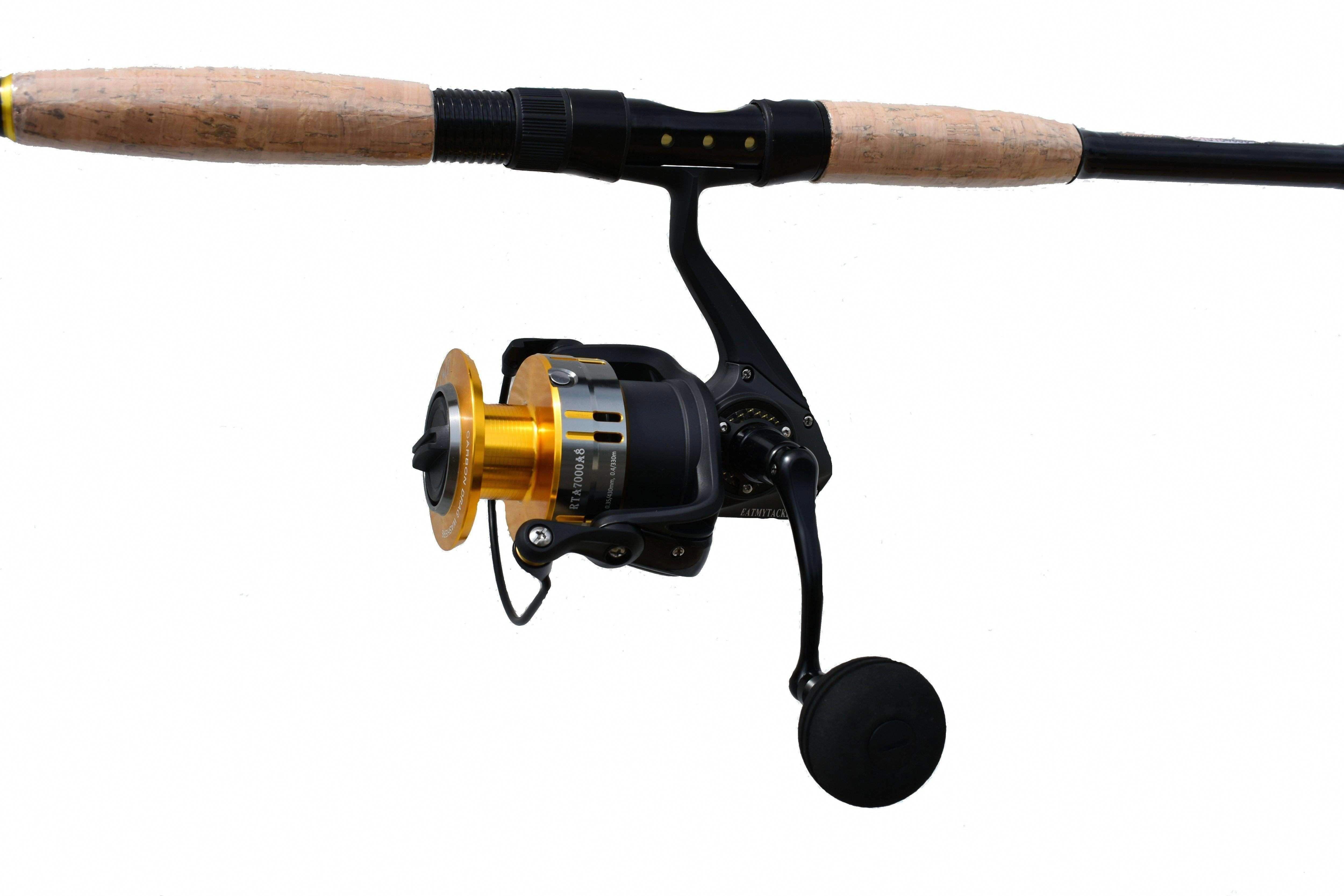 7 Combo Bluefish Predator Spinning Fishing Rod And Reel Saltwater Fishing Angler Fishinglife Saltwaterlu Fishing Rods And Reels Rod And Reel Fishing Rod