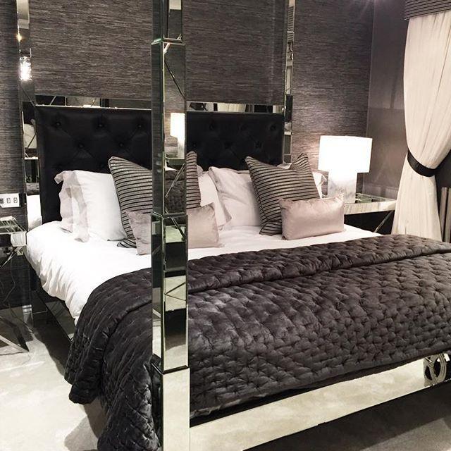Nice bedroom @KortenStEiN Grey And Silver Bedrooms Pinterest