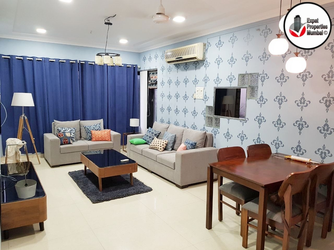 2 Bhk Furnished Sea View Apartment For Rent In Bandra