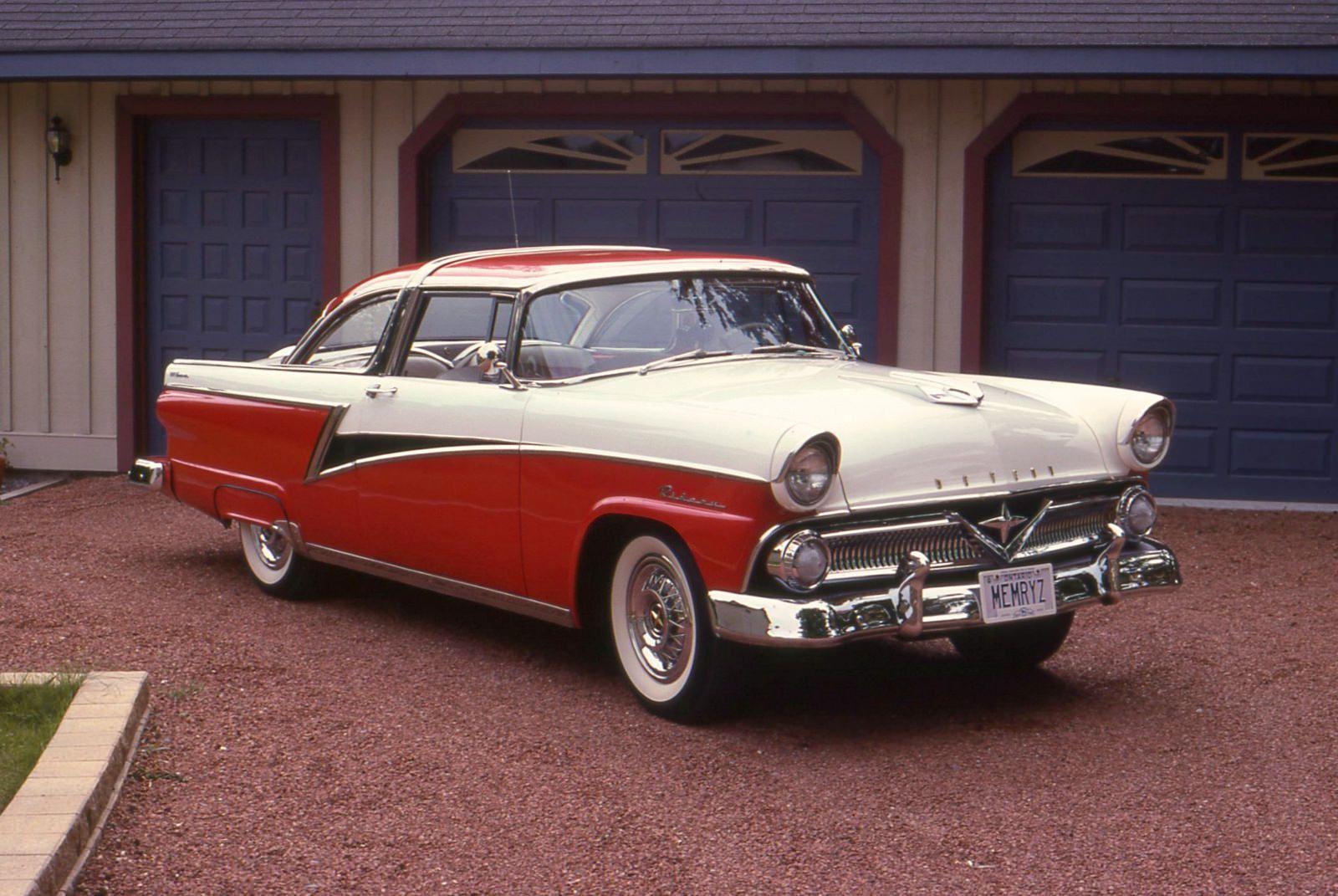 1955 Meteor Rideau Crown Victoria 2 door / Canadian