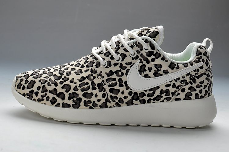 nike roshe women leopard shoes