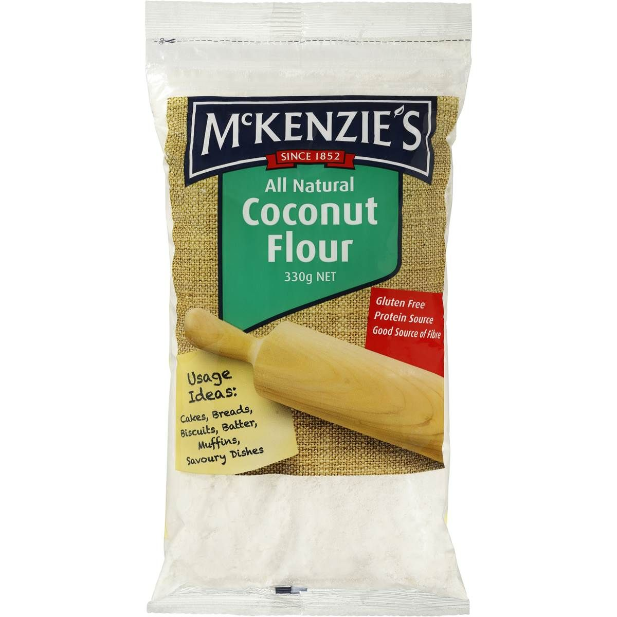 Mckenzie S Coconut Flour 330g Woolworths Coconut Flour Vegetable Bread Savoury Dishes