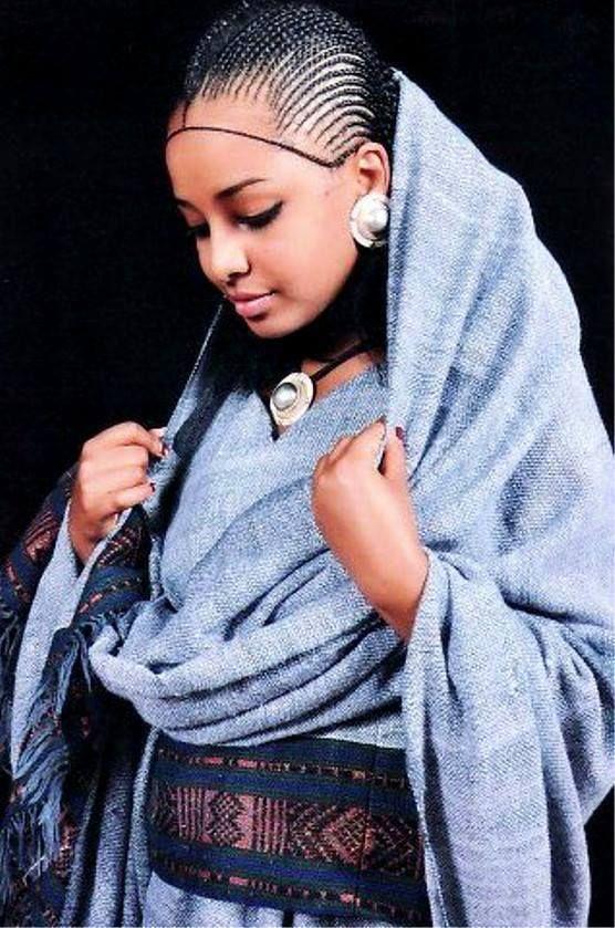 Ethiopian Bridal Hair Ethiopian Clothing Pinterest Bridal - Ethiopian brides hairstyle