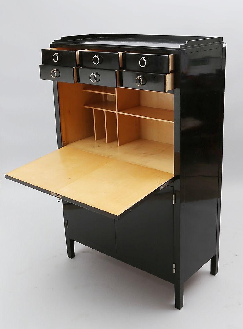 Bilder zu 185520. ART DECO-SEKRETÄR. – Auctionet | Workspace ...