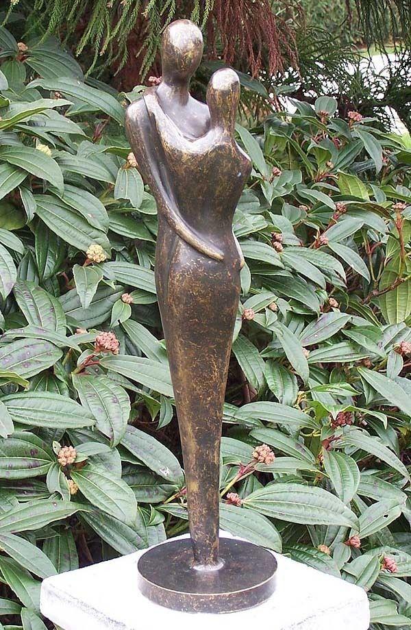 Bronzeskulptur Modernes Liebespaar Dekoration Fur Haus Und Garten Bronzeskulptur Skulpturen Kunst Skulpturen