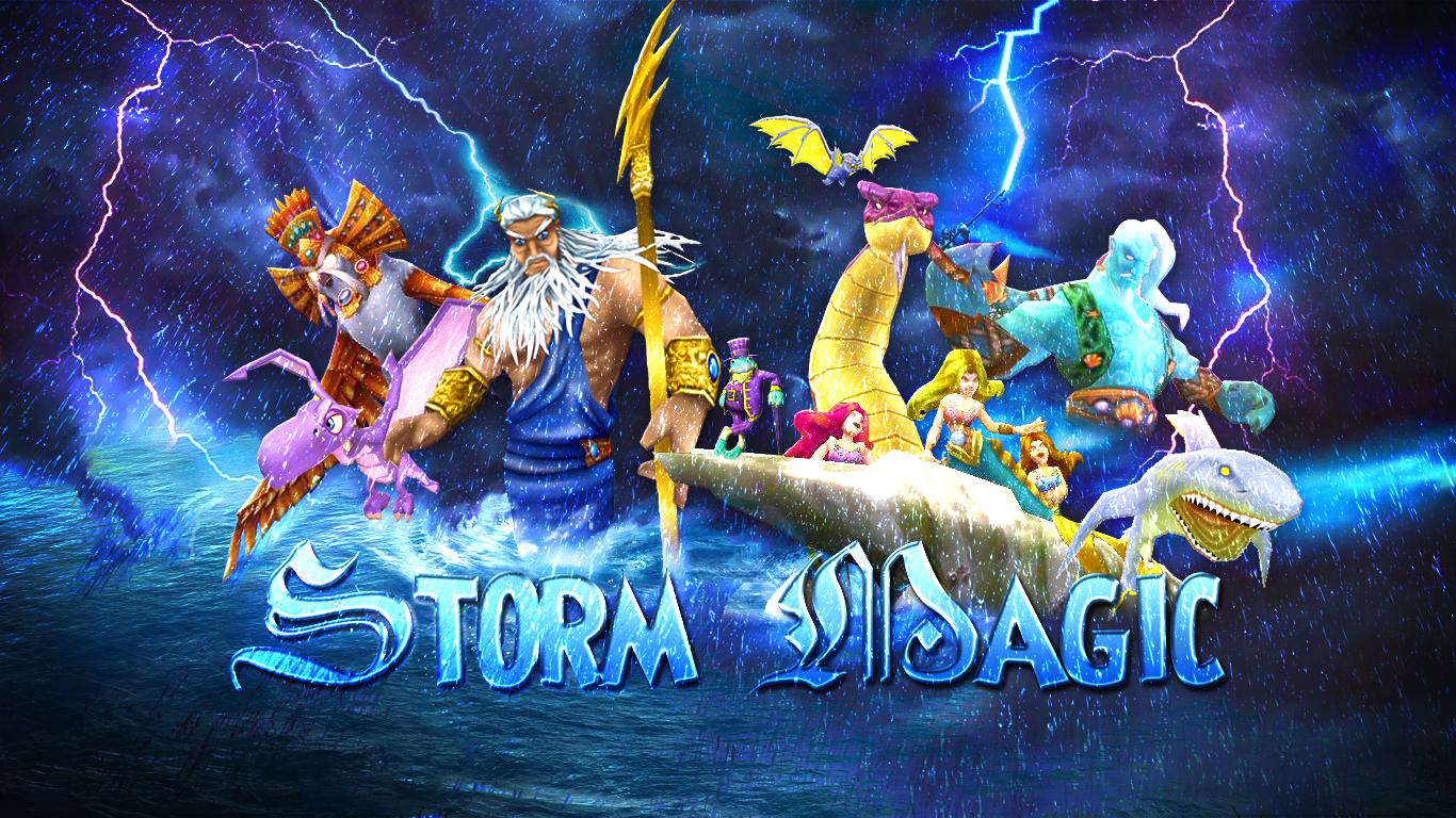 Storm Magic | Wizard 101 | Wizard101, Art, Games