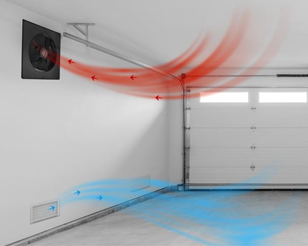 garage ventilation fan garage fan