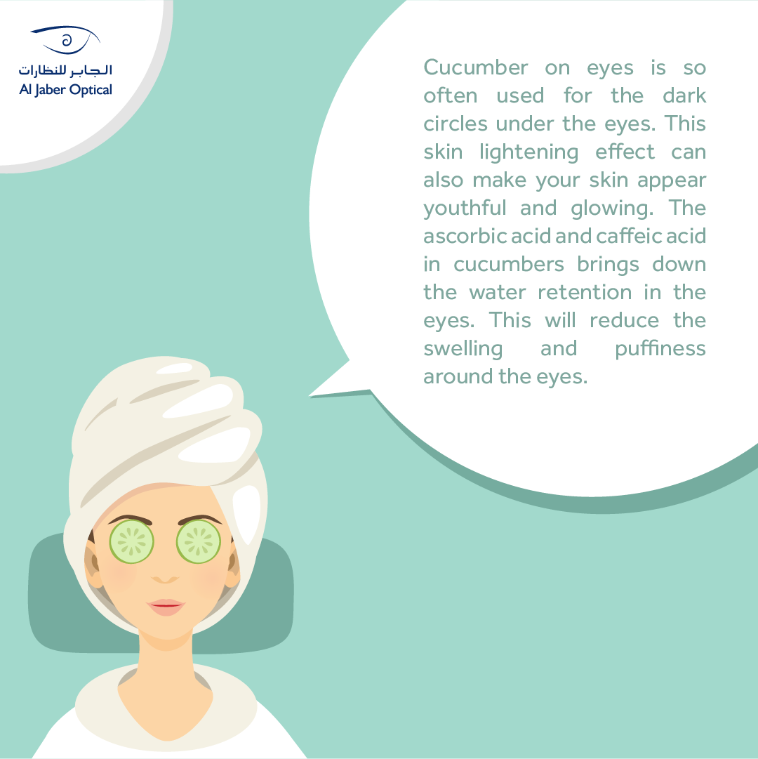 Why Is It Good To Put Cucumber On Your Eyes لماذا هو جيد وضع الخيار على العينين فوائد الخيار عديدة جدا Cucumber On Eyes Cucumber Uses Healthy Benefits