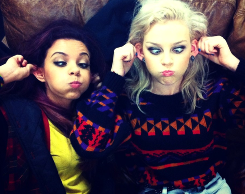 Perrie Edwards  Jade Thirlwall