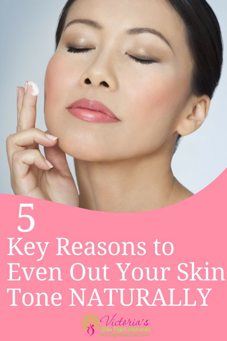 How To Even Skin Tone Naturally  Skin Care and BathBody