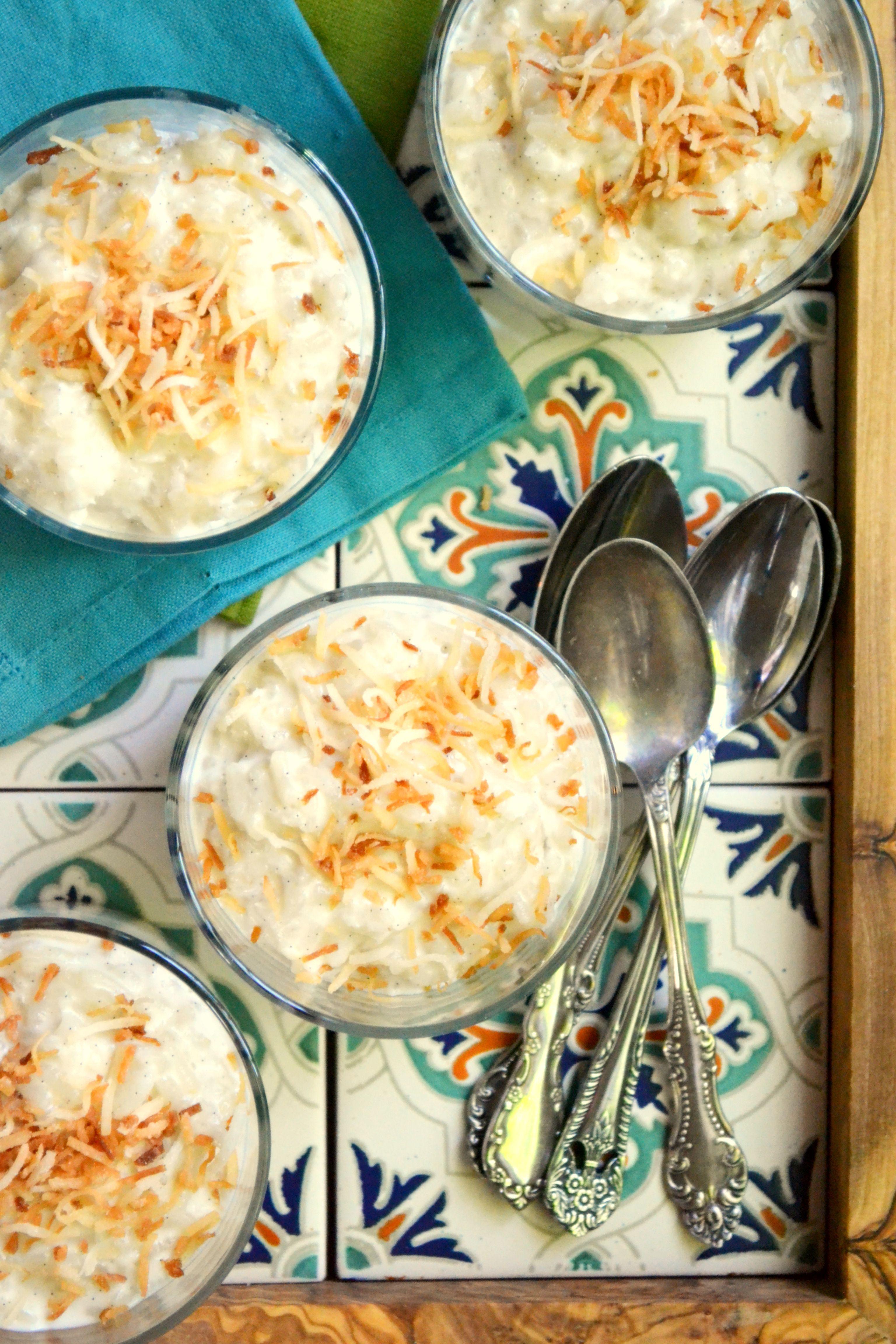 Creamy Coconut Rice Pudding | Coconut recipes, Coconut ...