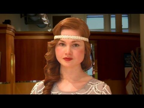 Get Great Gatsby Hair 1920s Wave And Headband