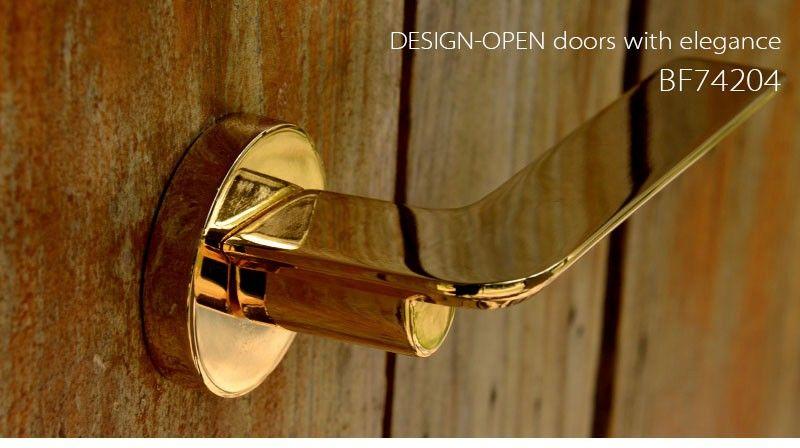Luxury Gold Plate Door Lock Front Door Lock Sets With Modern Design Brass Door  Handles Exterior