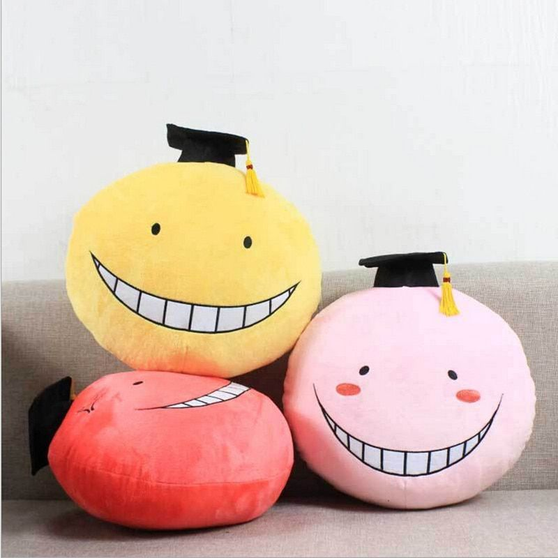 Assassination classroom korosensei pillow free shipping