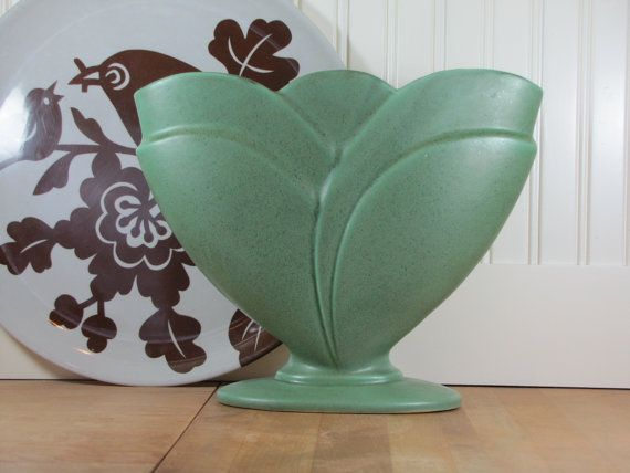 Xlarge Royal Haeger Vase Royal Haeger Vase Green By Sundaytown