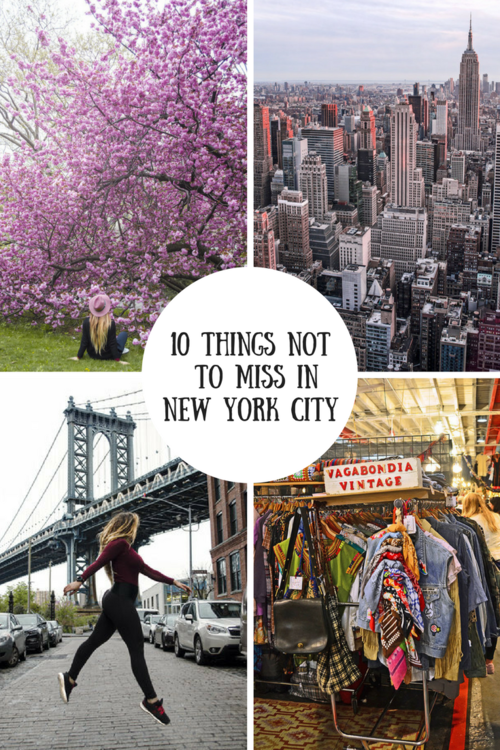 Top 10 things you absolutely can't miss in New York City #newyorkcity