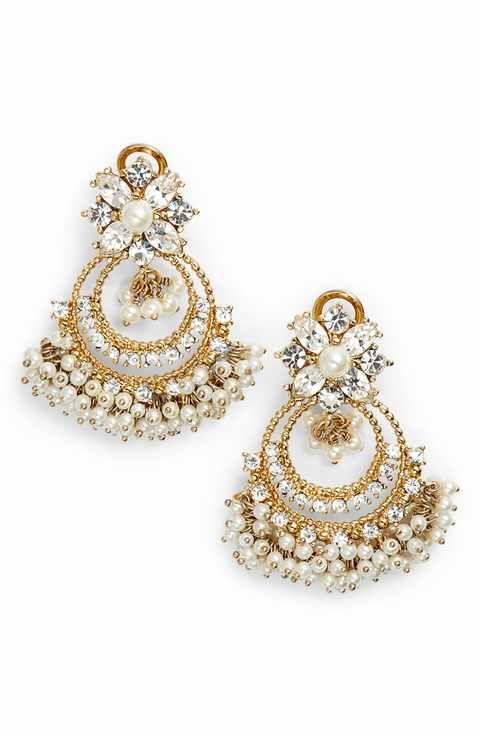 Marchesa Crystal Chandelier Drop Earrings shoes Pinterest