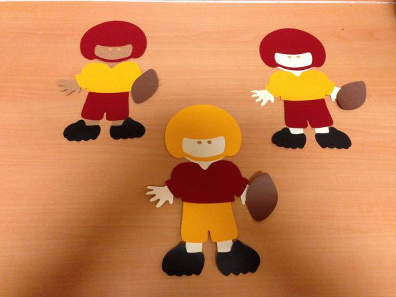 Sports Characters by ACuteCreation on Etsy, $5.00