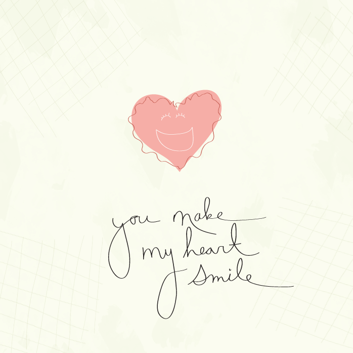 You just made my heart smile | Celebrate-Valentines ...