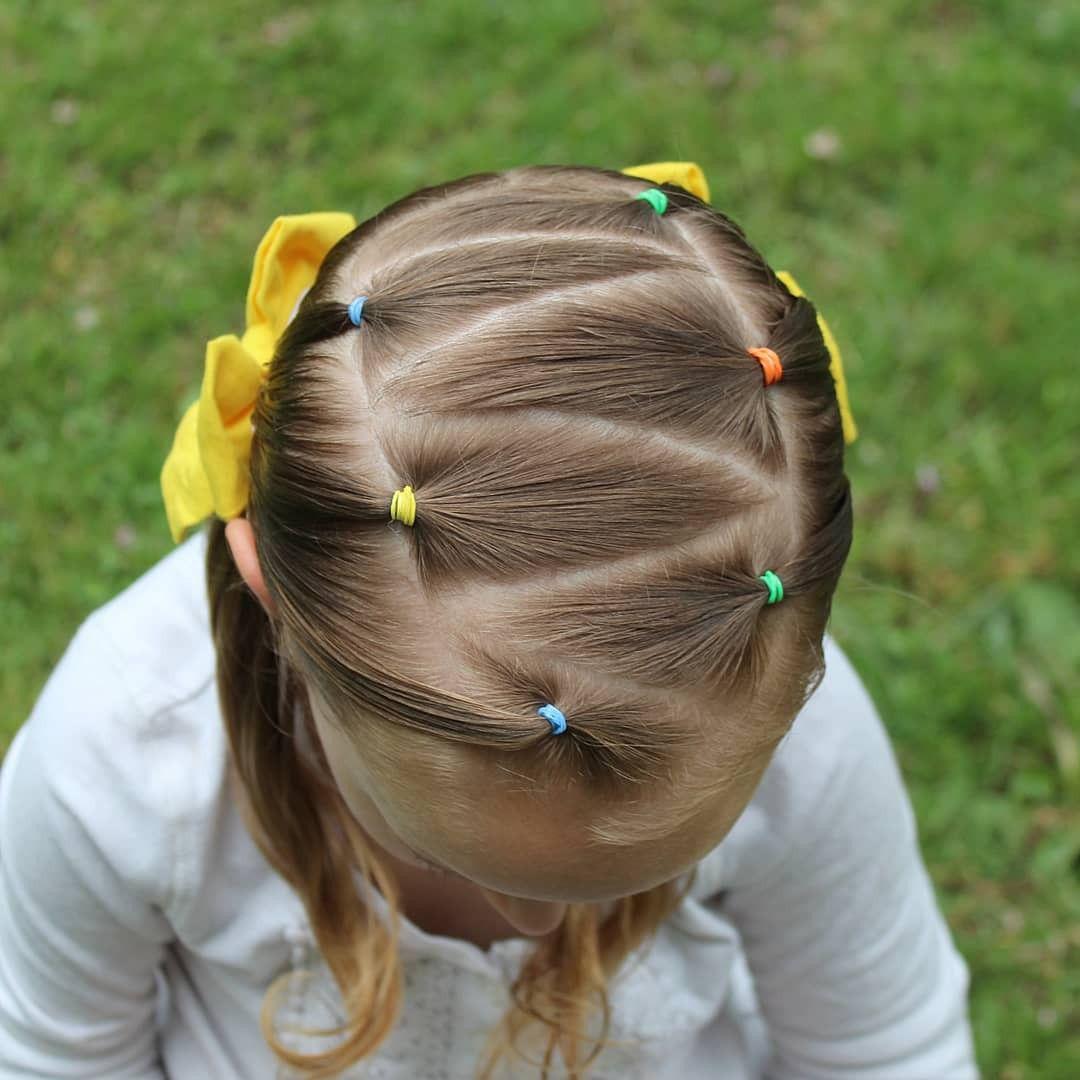 картинки из волос из хвостиков для коротких волос массивные полотнища