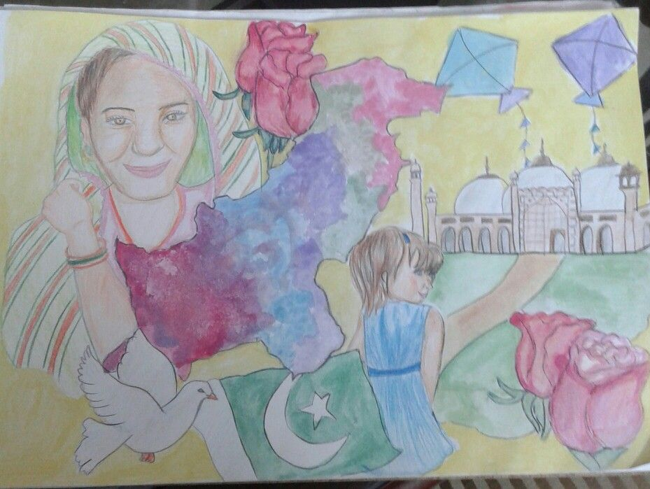 This one for my country. <3 By : Ayesha Ahmed