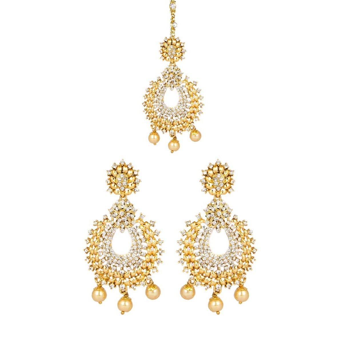 Latest Designer Party Wear Earrings Online For Women http://www ...