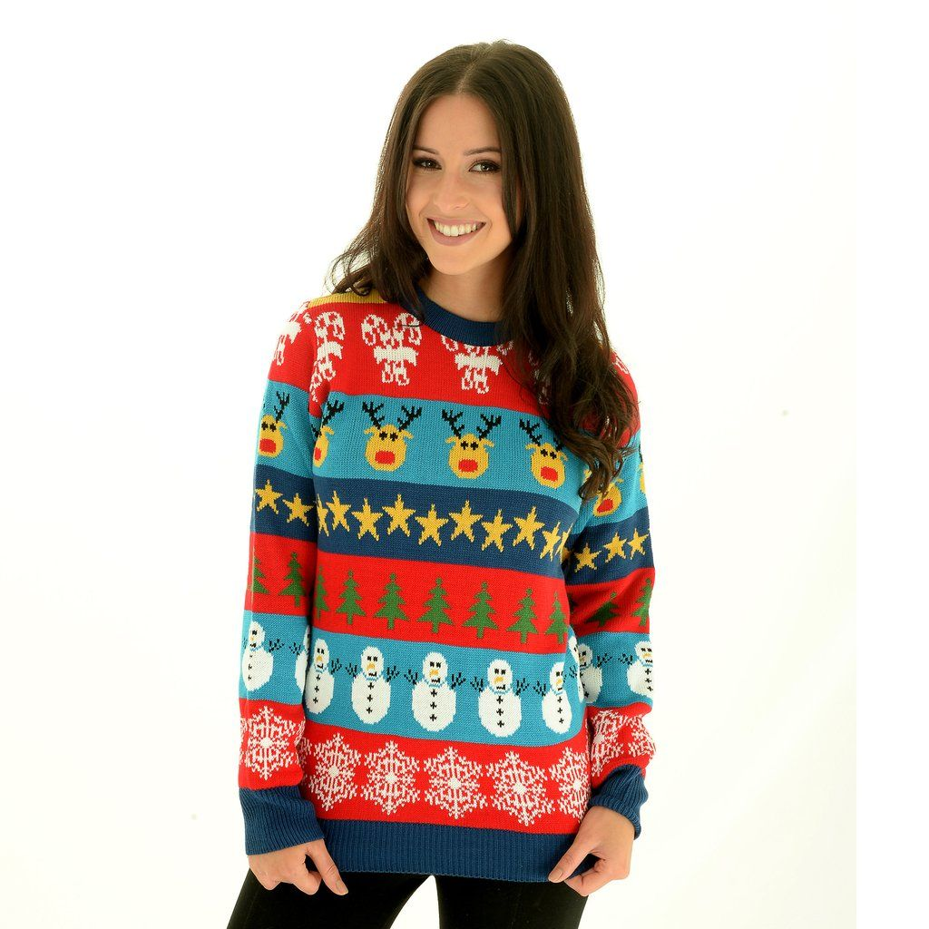 Ugly Christmas Sweaters Pinterest.Ladies Christmas Sweater The Christmas Day Mashup Ugly