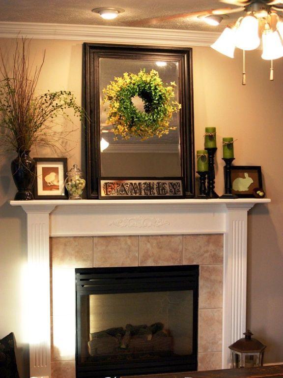 Christmas Mantel Decorations fireplace: adoravle christmas mantel decorating ideas with snow