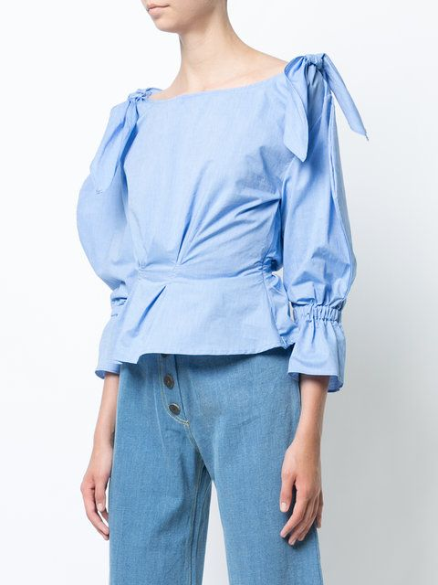Rejina Pyo Michelle poplin shirt