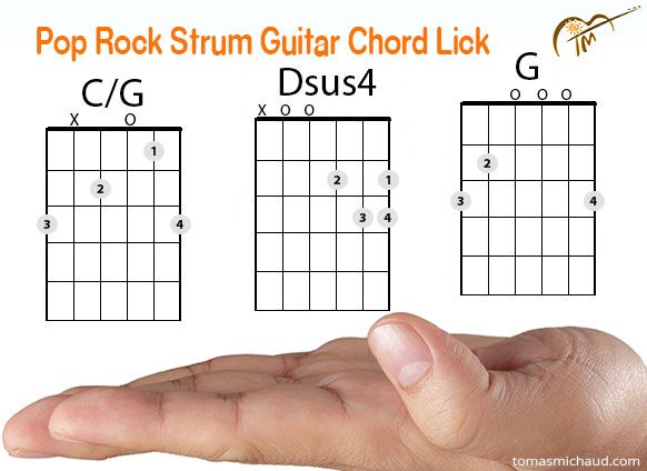 Cool Pop Rock Eagles Acoustic Guitar Chord Lick Using G C G Acoustic Guitar Chords Acoustic Guitar Guitar Chords