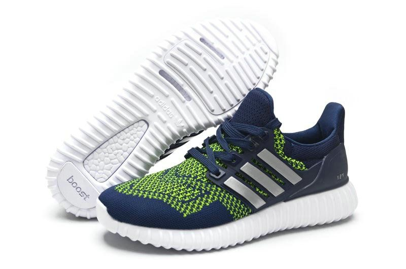 new arrival b2a91 03841 Adidas Yeezy Ultra Boost 2016-2017 Beckham Navy Green UK Trainers 2017 Running  Shoes