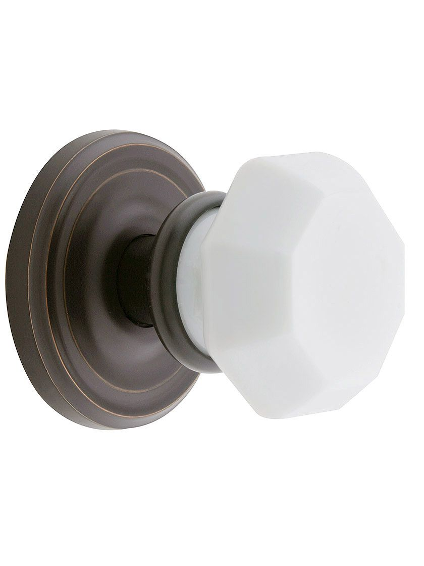 Antique door knobs on new doors - Restore The Look Of Your Interior Doors With A New Door Knob Set Available In Crystal Glass Metal And Porcelain Our Door Knob Sets Include All The Parts