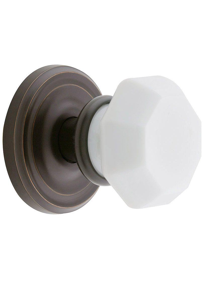 Milk Glass Door Knobs | milkglass | Pinterest | Glass door knobs ...