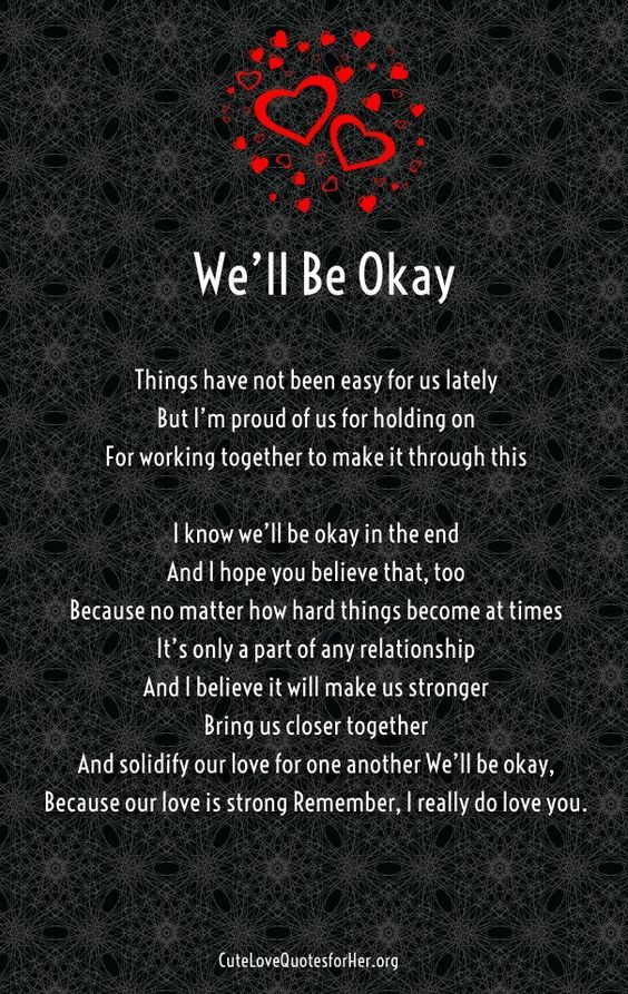 It Will All Be Ok Poems Quotes