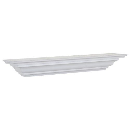 Land Of Wood Woodland Products Cms36w Crown Molding 36 Inch Shelf White Finish Crown Molding Shelf Wall Molding Display Shelves