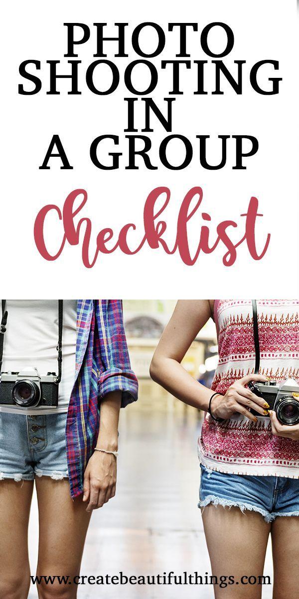Checkliste für Gruppenfotos. Wie organisiere ich meine Gruppenaufnahmen?