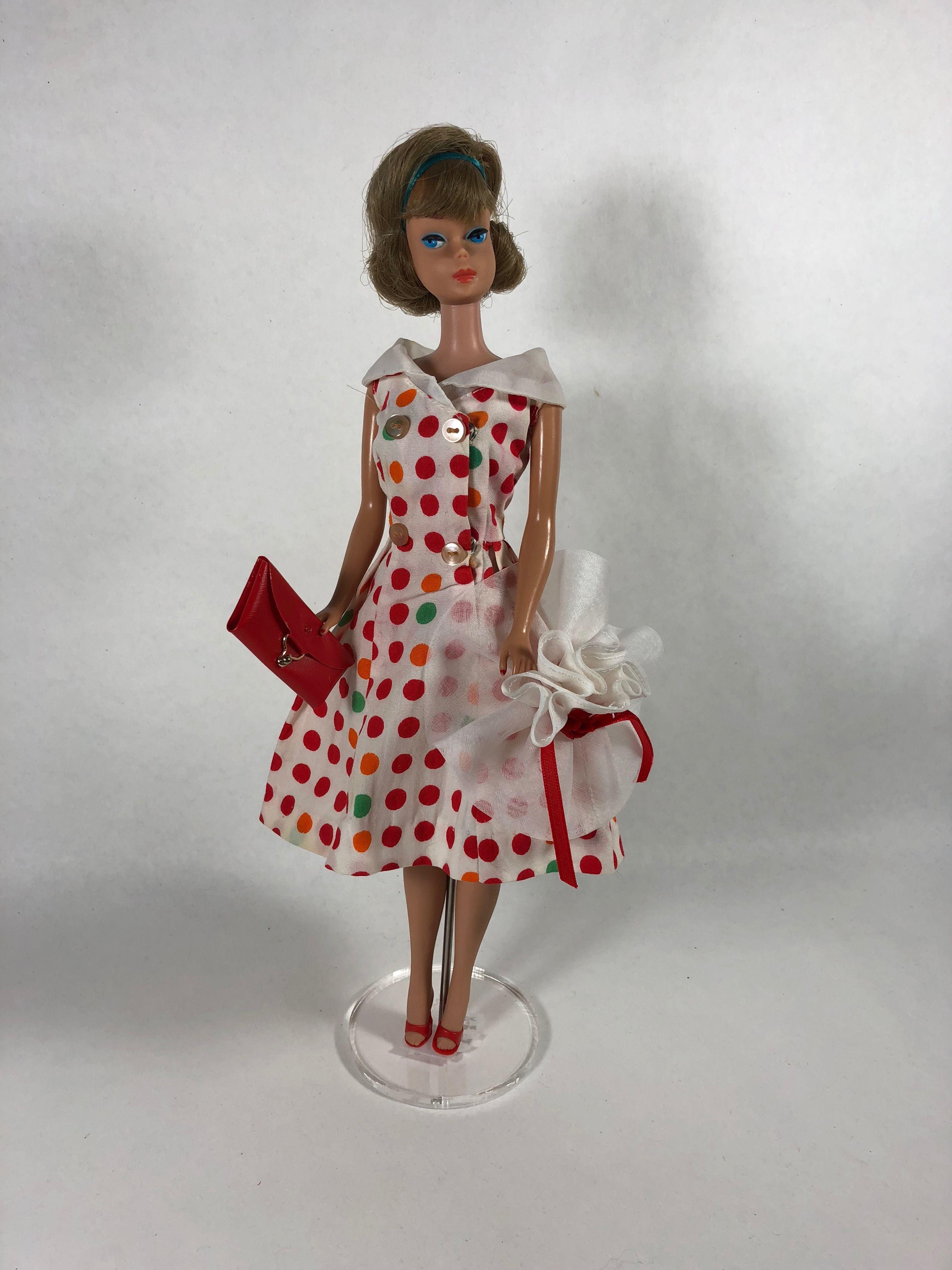 Francie and Skipper Multi Stripe Doll Stockings for vintage Barbie