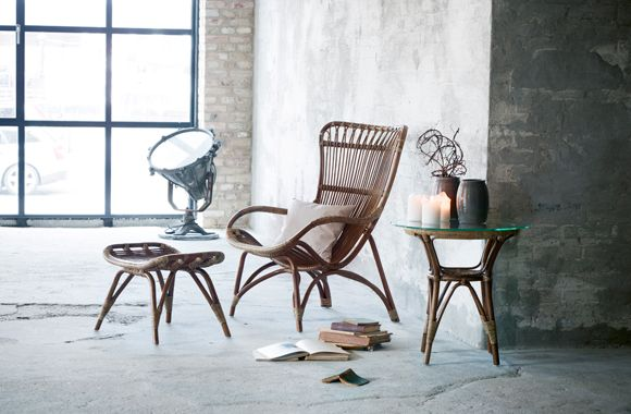 Photo Skovdal Dk Rattan Sessel Von Sika Design Chairs