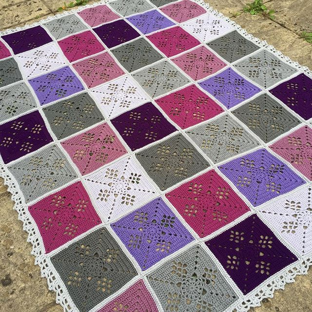 Elin Stoodley On Instagram Victorian Lattice Blanket Square