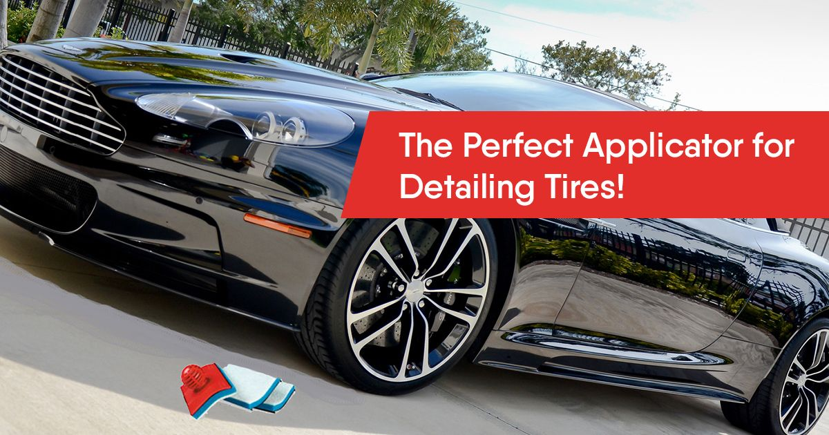 Best Tire Shine Applicator (With images) Clean tires