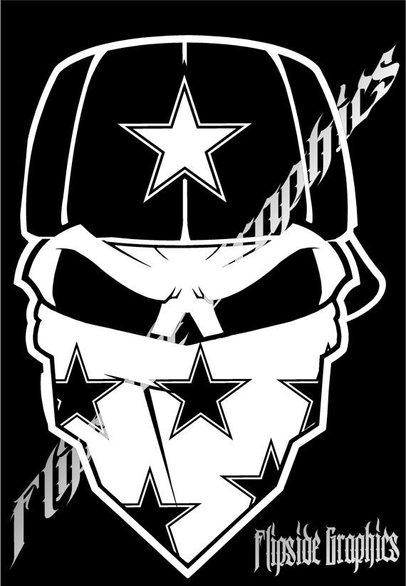 Custom Dallas Cowboys Decals Stickers Buy 1 Get 1