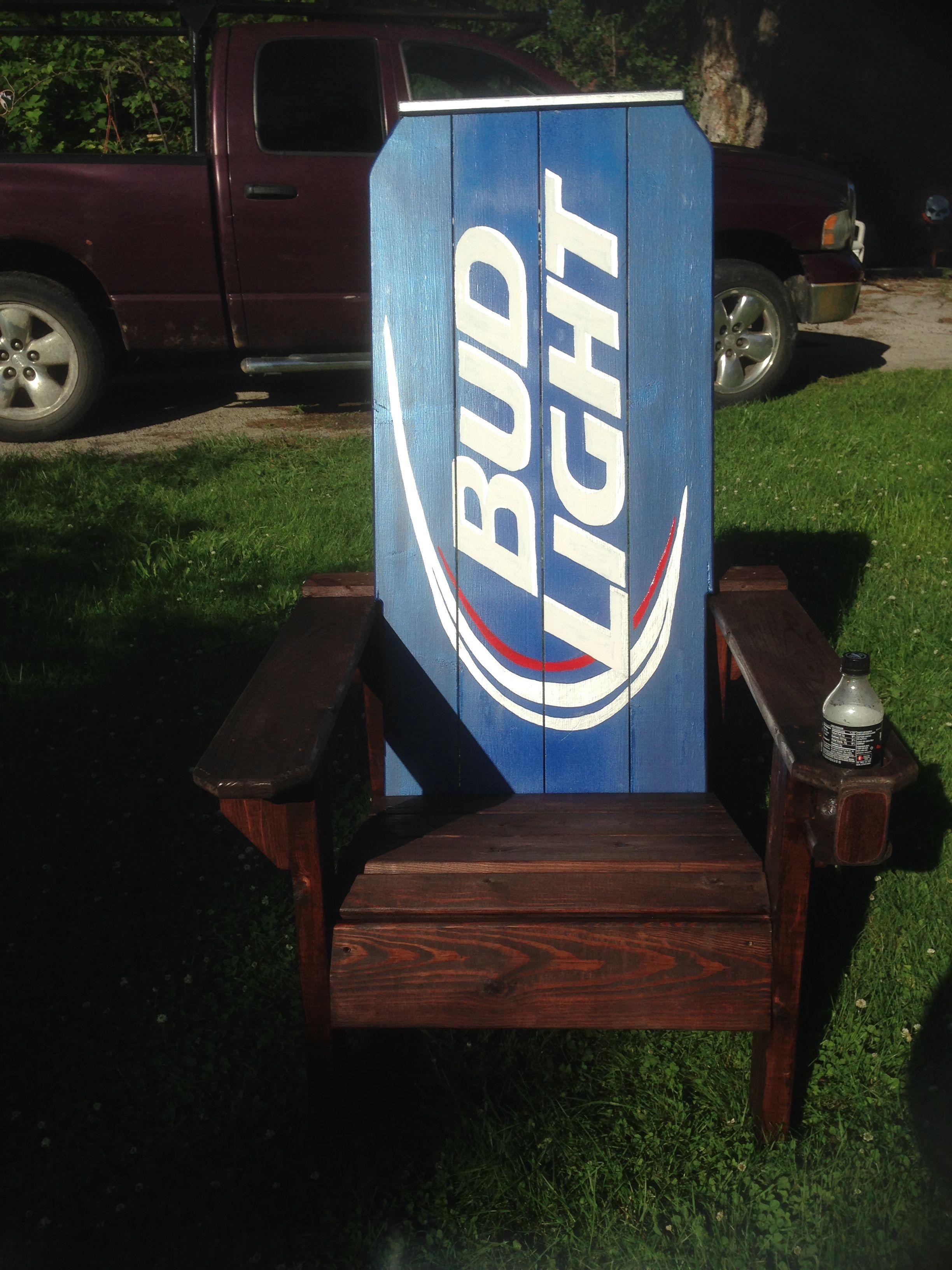 Merveilleux Bud Light Chair