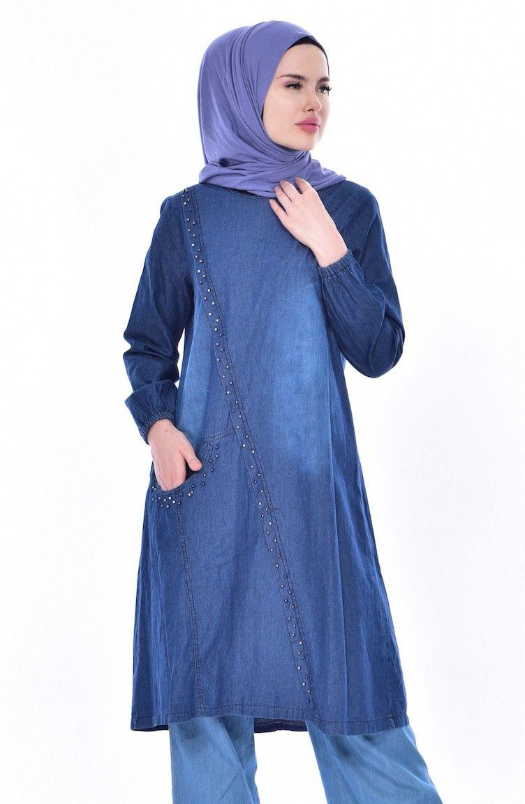 bda691ffe57cd Kot Tunik Modelleri ve Fiyatları - Tesettür Giyim - Sefamerve ...