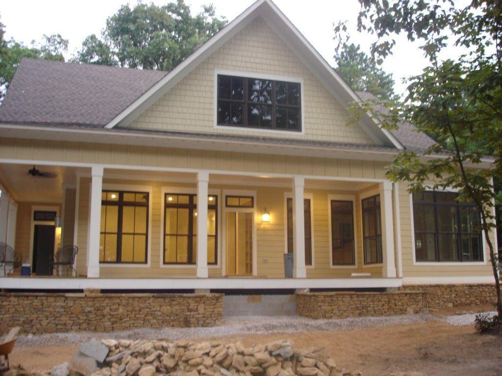 Bubba Moose Tucker Bayou Construction Process Brick Farmhouse Lake Houses Exterior Farmhouse House