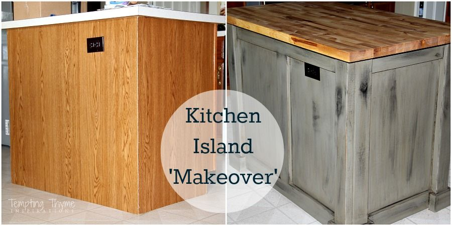 DIY Kitchen Island Makeover {with Plywood And Lumber}