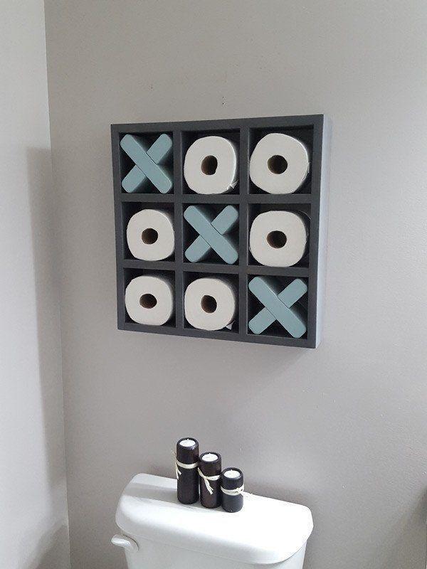 Lustige Toilettenpapier Halterung Klopapierhalter