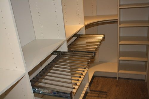 Curved Closet Rod Entrancing Closet 2012  Traditional  Closet  Toronto  Toronto Custom Review