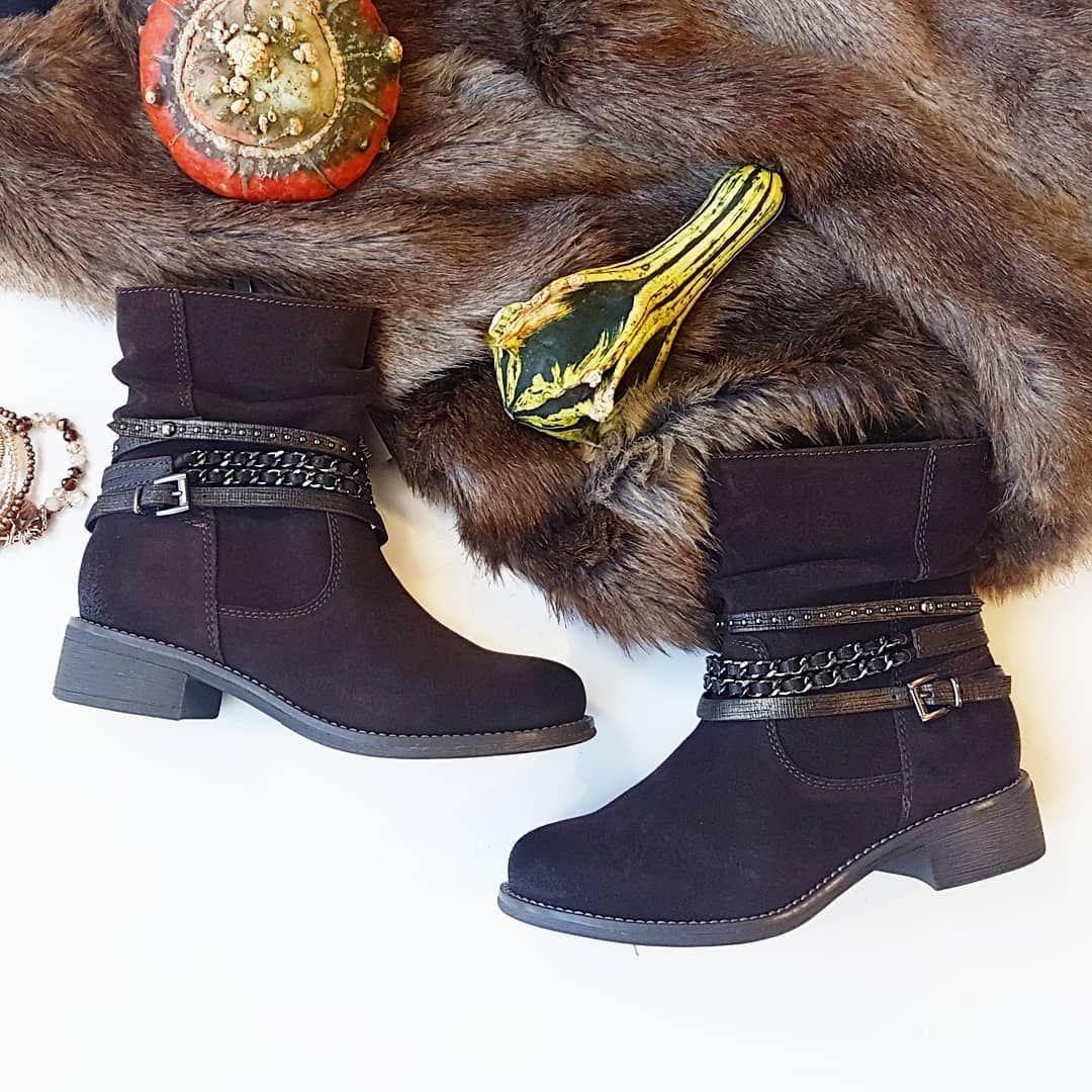 Zimowe Welurowe Botki Marco Tozzi Stylowe I Niesamowicie Komfortowe Marcotozzi Bootieseason Winterstyle Leathershoes Wi Winter Shoes Shoes Boots