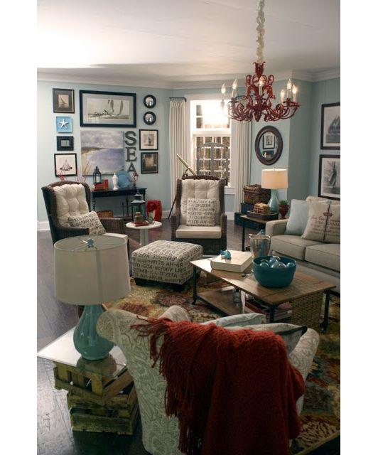 Beach Themed Living Room Home And Garden Design Idea 39 S Lovely Living Rooms Pinterest